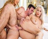 Kylie Page, Moka Mora a Manuel Ferrara si zapíchají v trojce