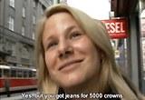 Kristýna a rychlý prachy pro český holky z ulice