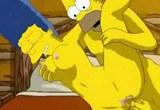 Homer Simpson šuká s Marge – kreslené porno