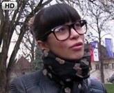 Public Agent nabídne Rychlý Prachy za sex brýlaté ruské studentce