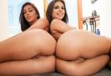 Dvě   prdelaté   brunetky Jynx Maze a Mischa Brooks