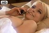 Erotické snění krásné sexy blondýnky – HD porno