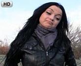Rychlý Prachy pro český holky z ulice – Dlouhovlasá brunetka Martina