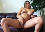 Nadržená těhotná amatérka