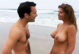 Amatérský pár souloží na pláži