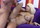 Sexy blondýnka Tessa Taylor na castingu