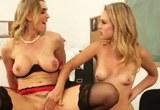 Charlee Monroe a Tanya Tate ve školním skupinovém sexu