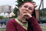 Rychlý Prachy pro český holky z ulice – Potetovaná brunetka Lulu